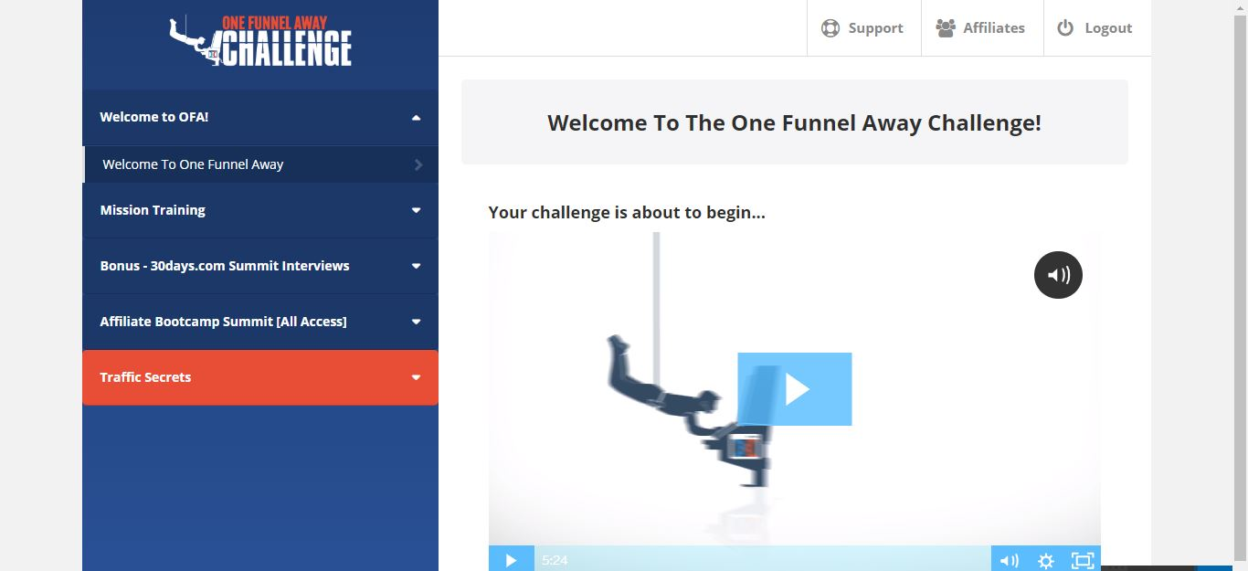 one funnel away challenge review and clickfunnels unboxing