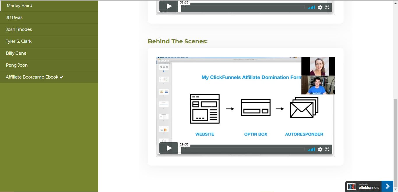 clickfunnels affiliate bootcamp behind the scenes