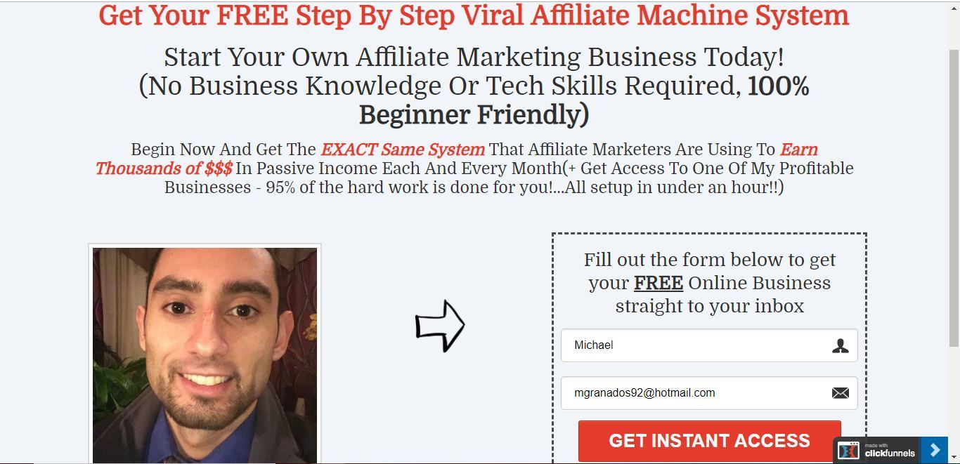 is clickfunnels a landing page