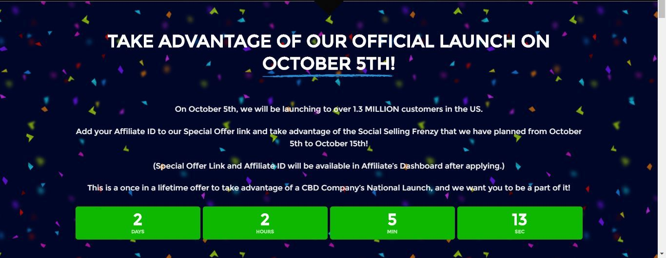 white wolf cbd affiliate official launch