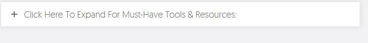 must have tools