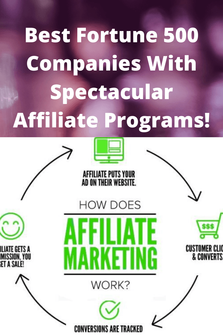 Best Fortune 500 Companies With Spectacular Affiliate Programs!