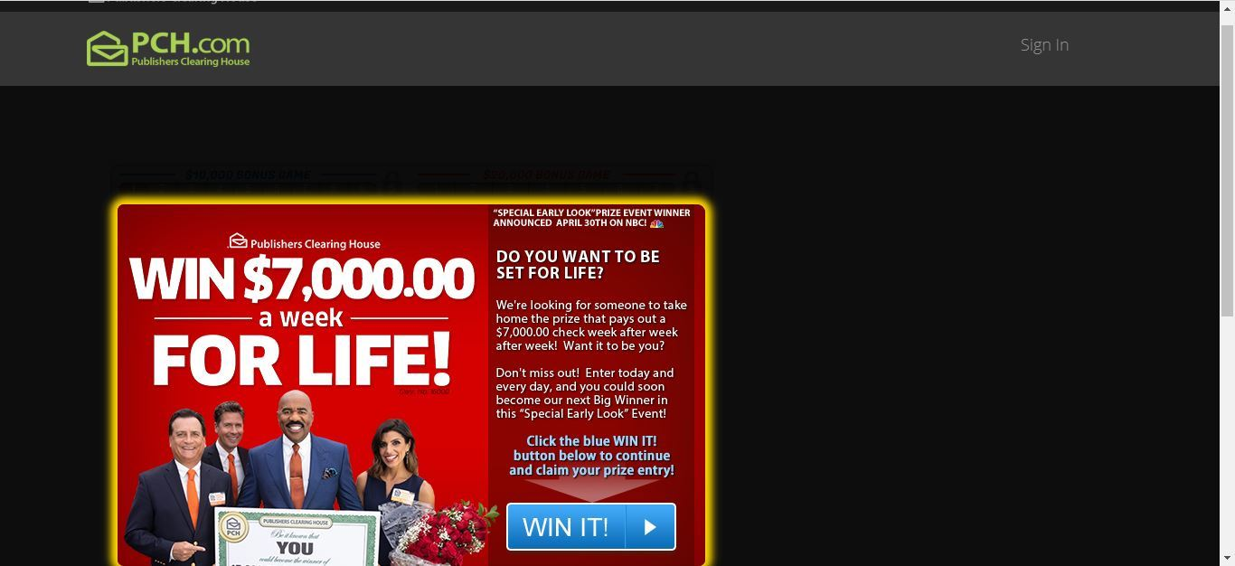is publishers clearing house a scam