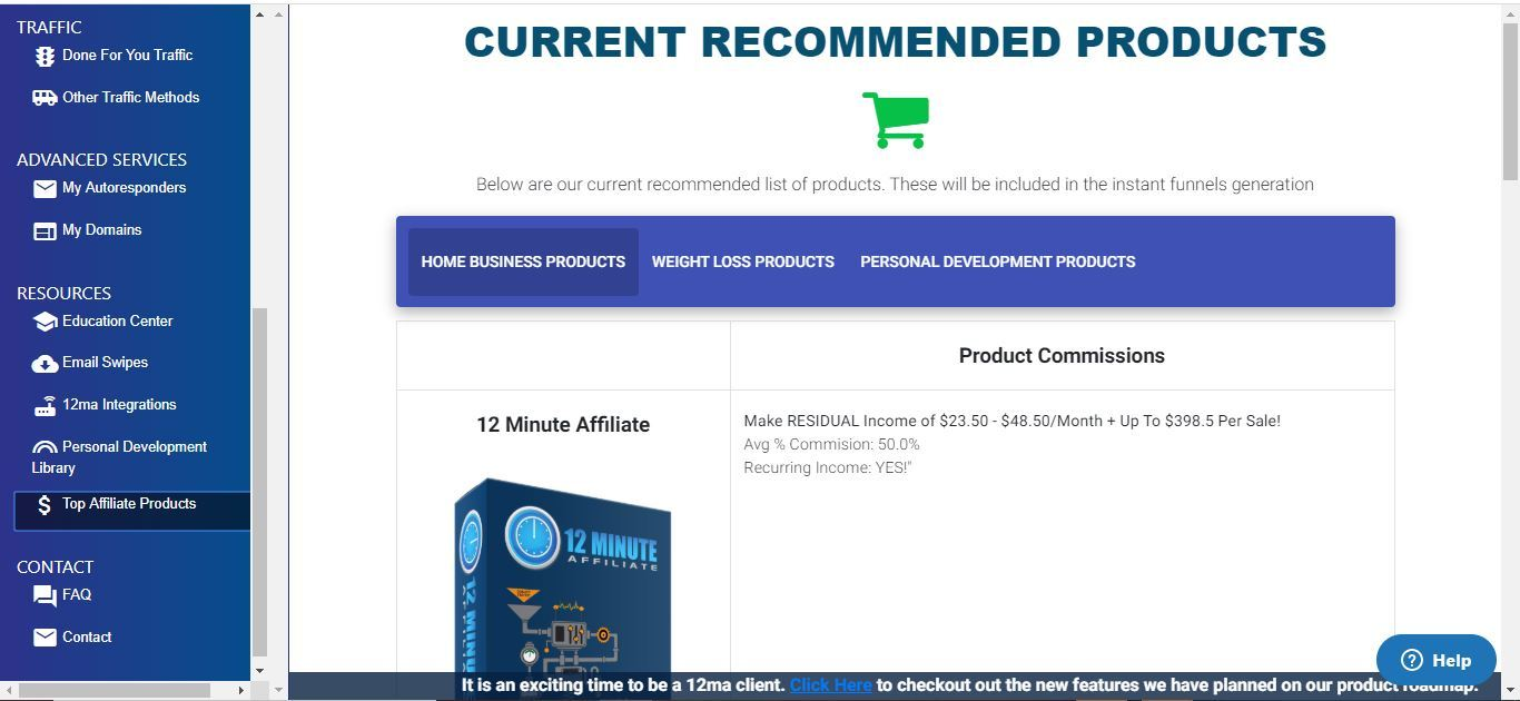 12 minute affiliate products