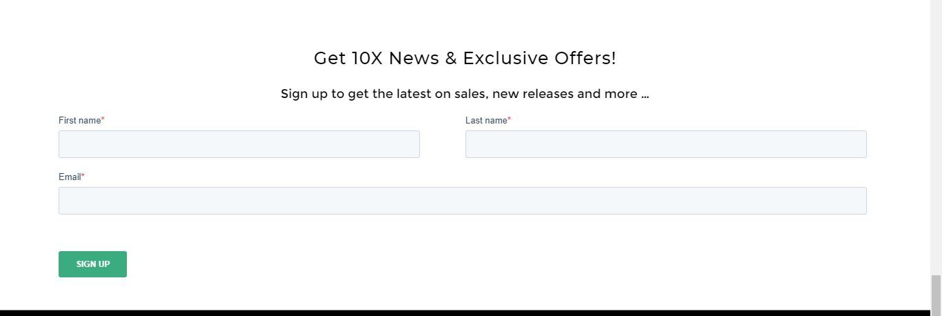 10x news and exclusive content