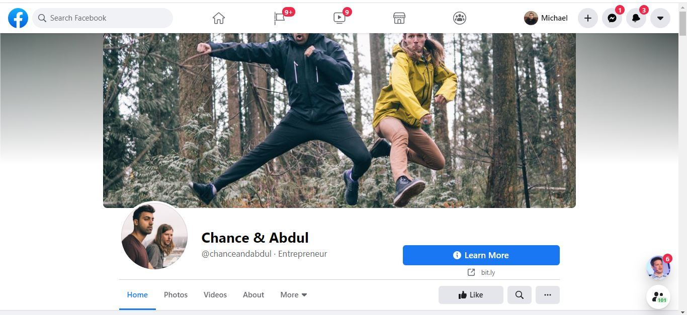 chance and abdul facebook page