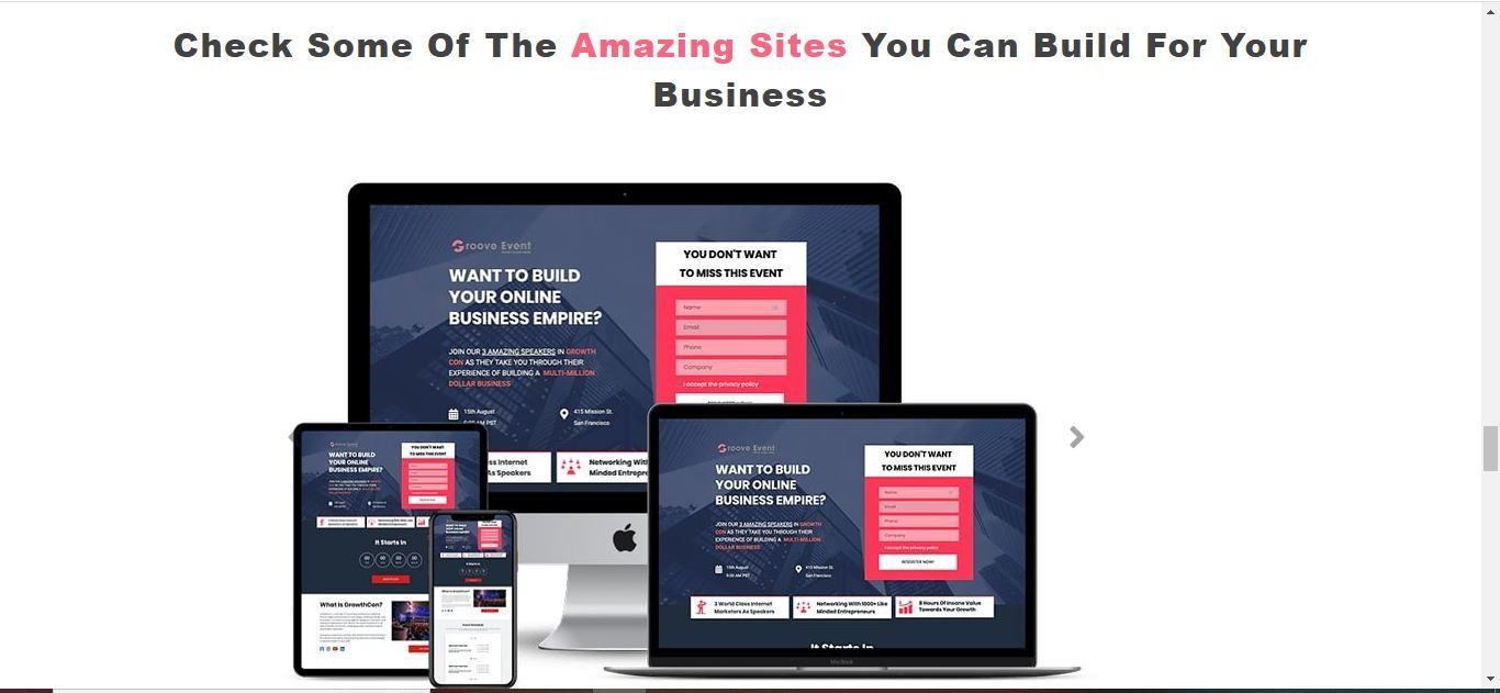 groovefunnel site