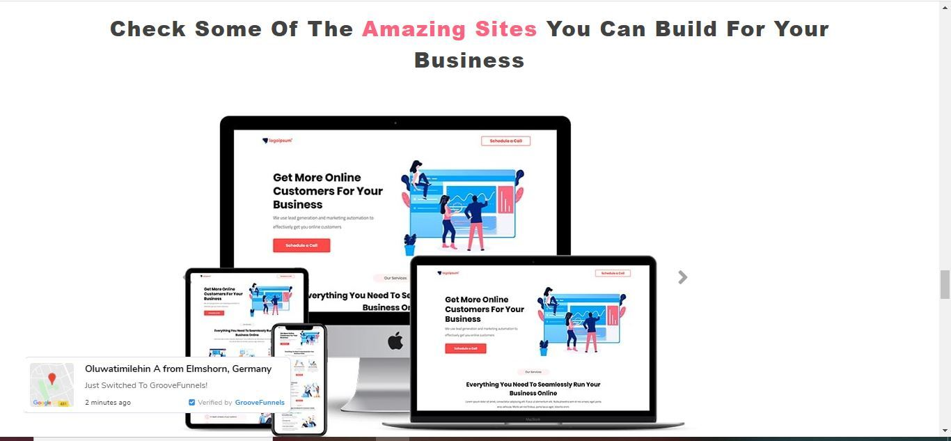 groovefunnel sites