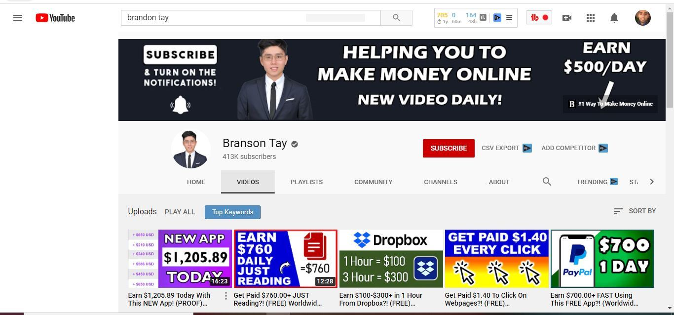 is brandon tay a scam