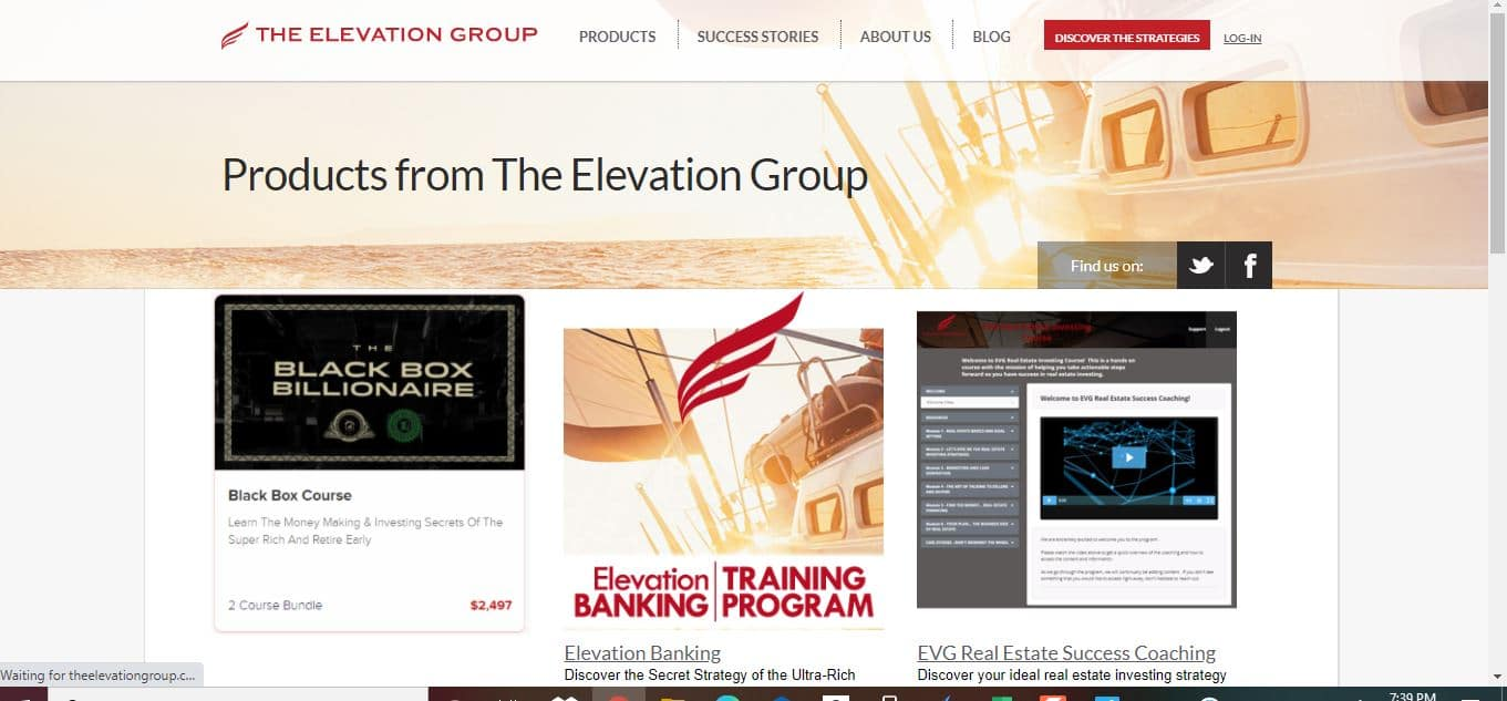 the elevation group products