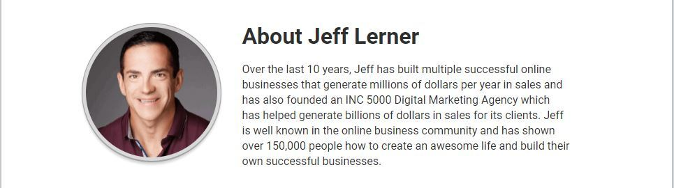 about jeff lerner