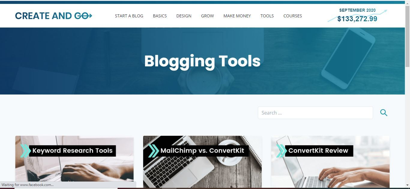 create and go tools