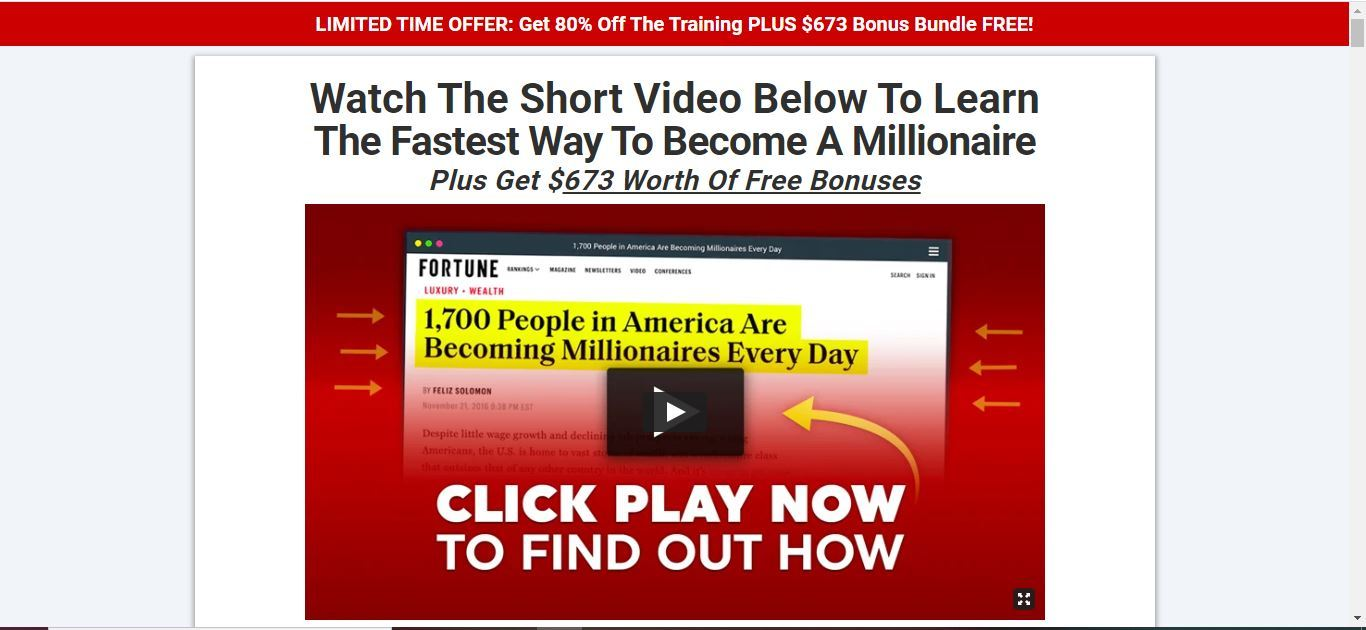 fastest way to become a millionaire