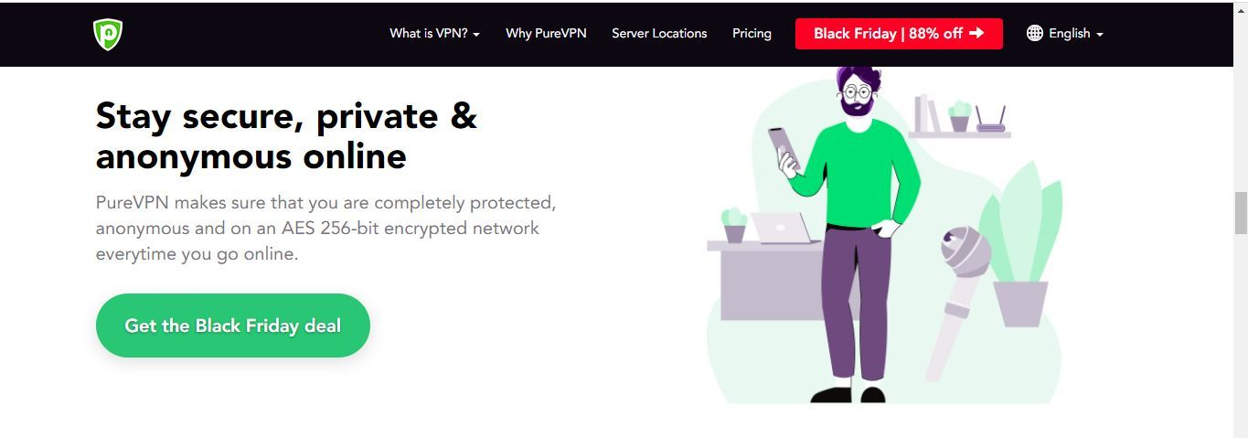 pure vpn safe and secure