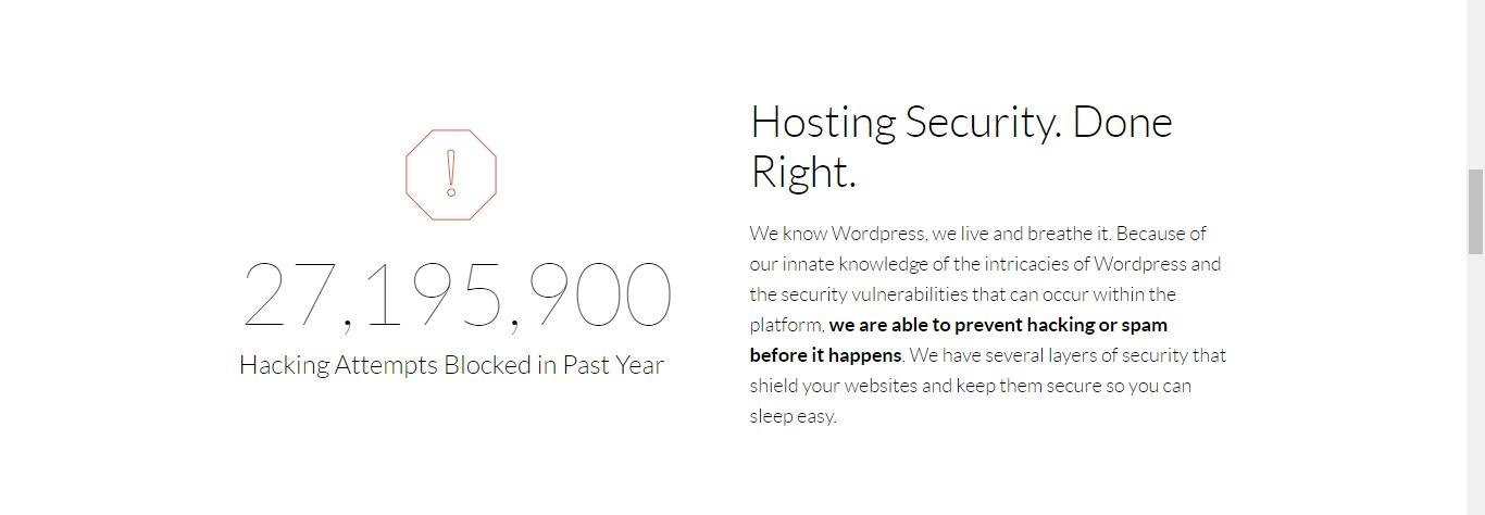 wealthy affiliate hosting security