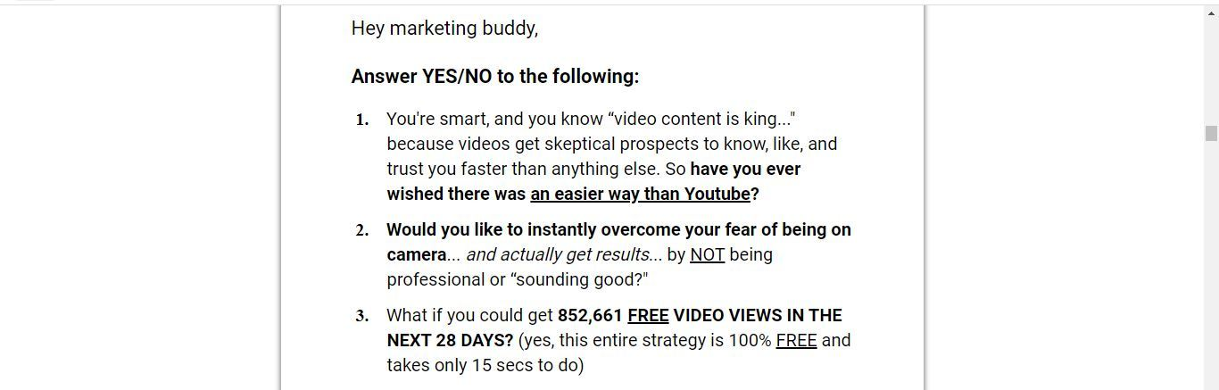 15 second free leads questions