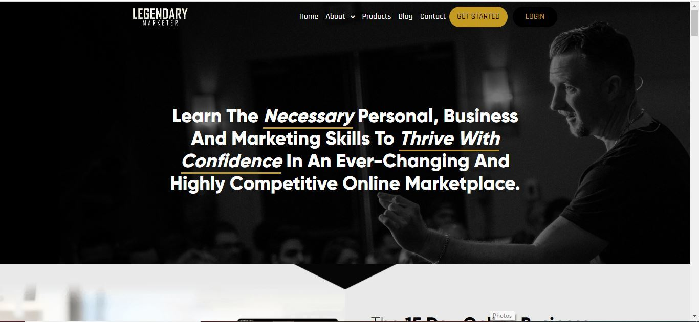 legendary marketer products apge