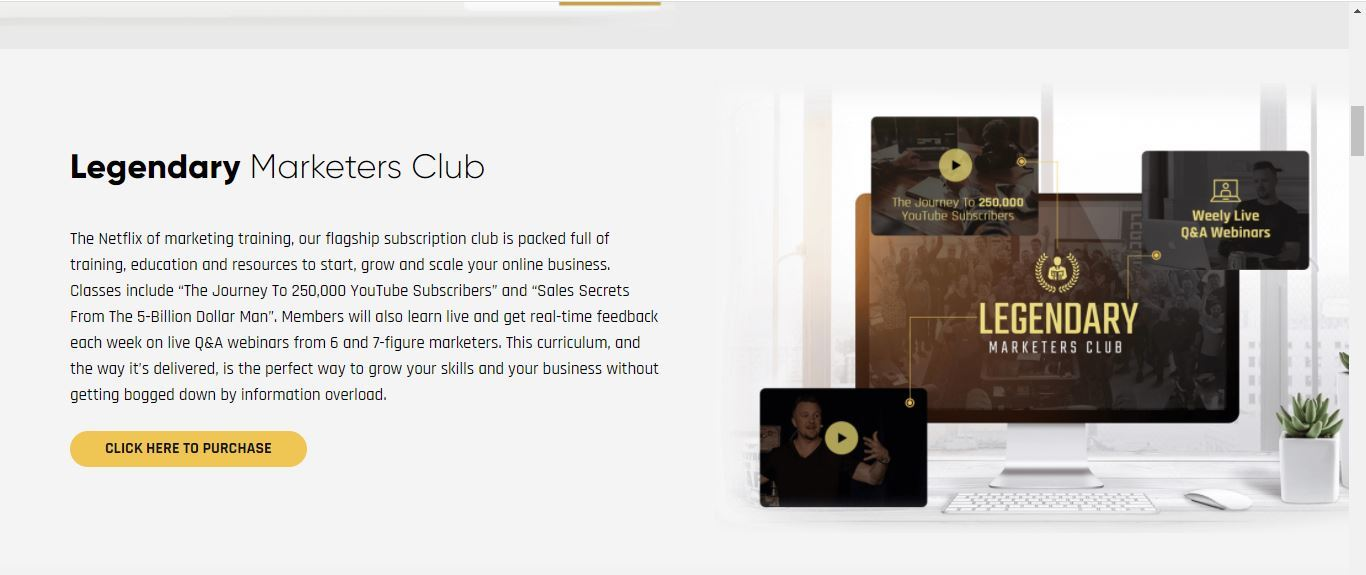 legendary marketers club product
