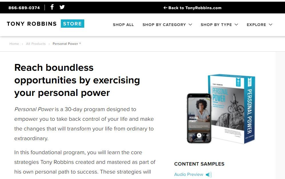 personal power review
