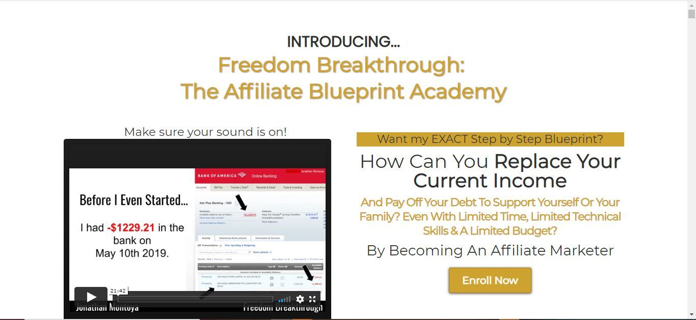 what is freedom breakthrough