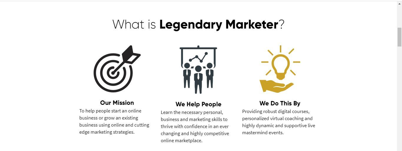 what is legendary marketer