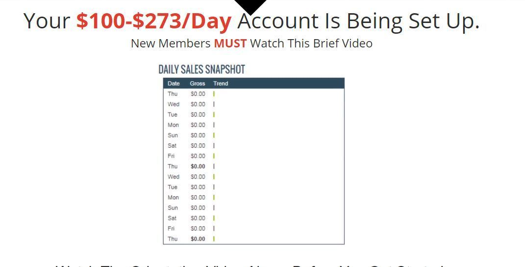 20 minute cash system account opened