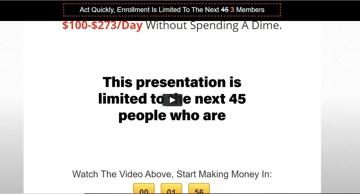 20 minute cash system limited