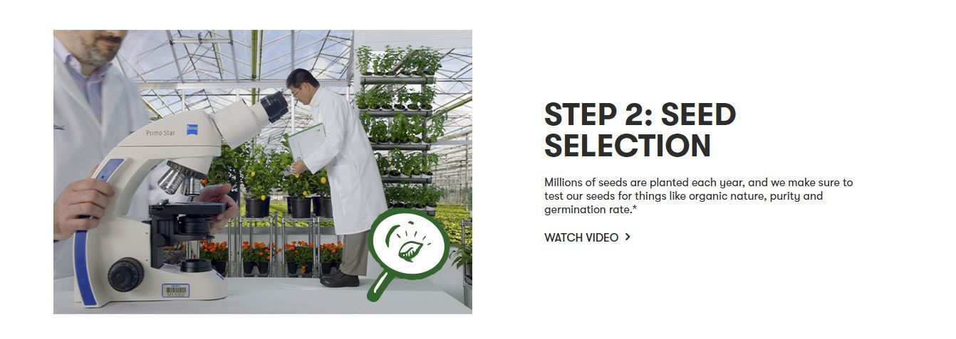 amway seed selection