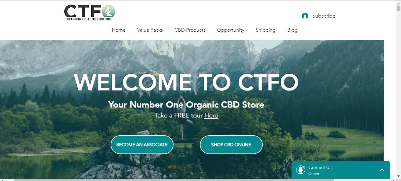 ctfo home page