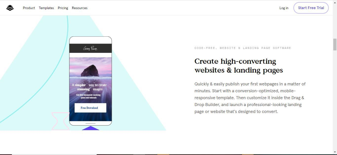 leadpages high converting websites