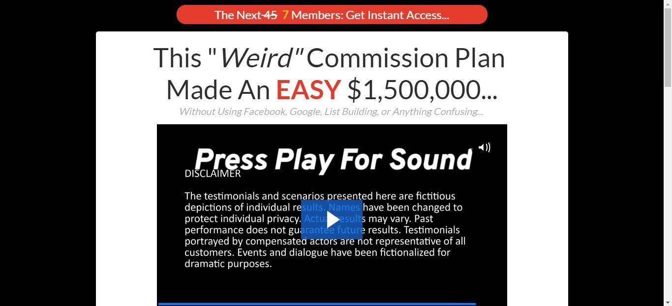 what is commission plan x