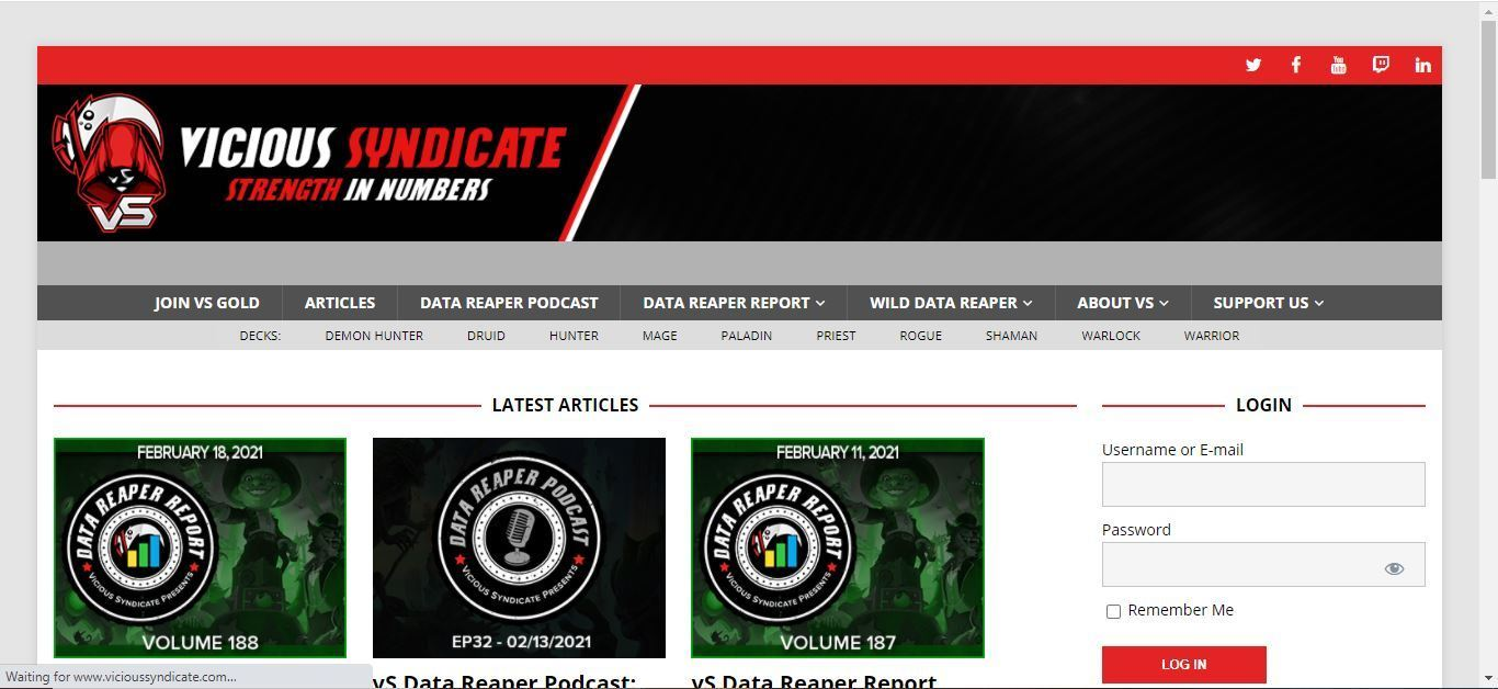 vicious syndicate home page