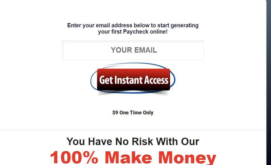 click wealth system enter email