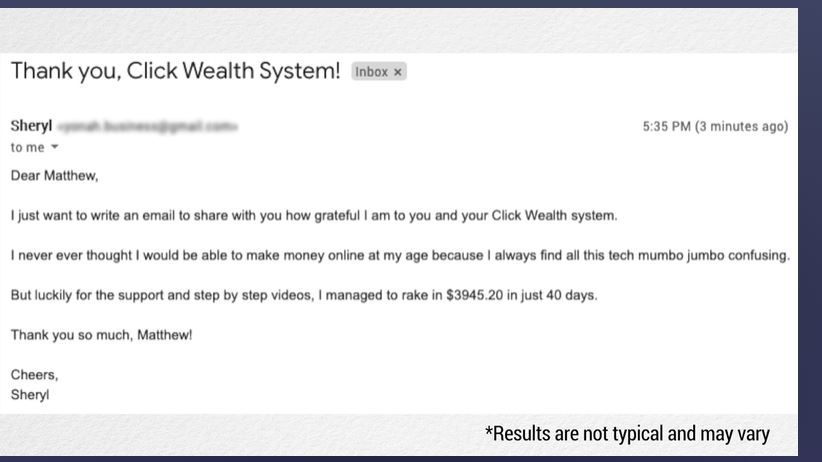 click wealth system reviews