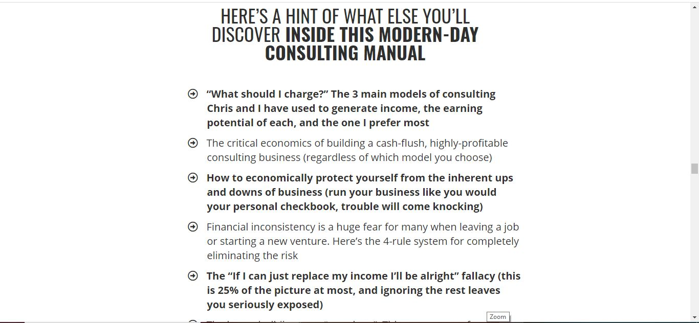 consulting manual