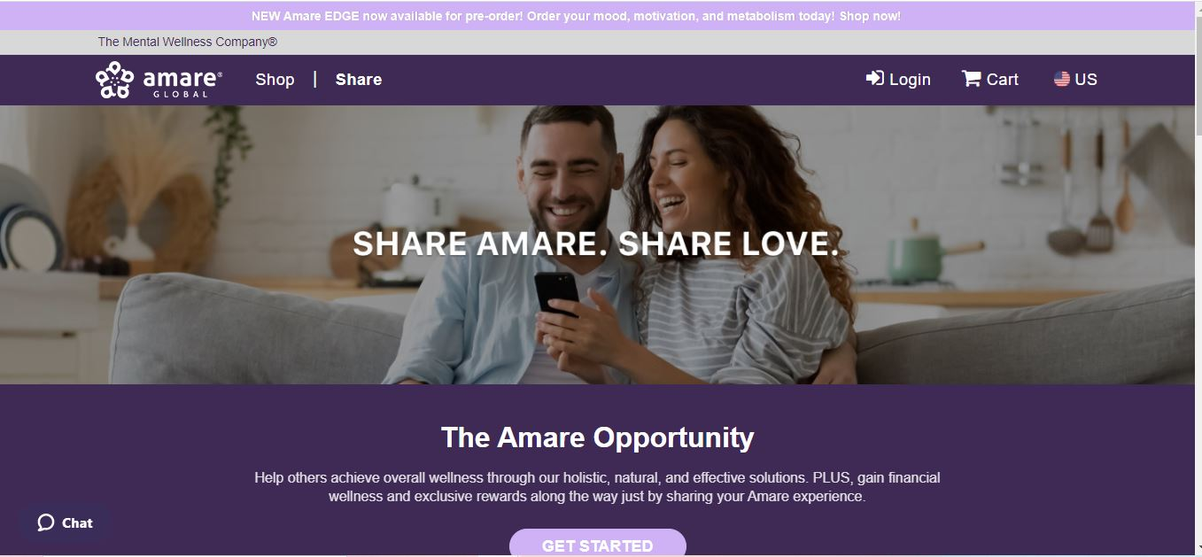 amare business opportunity