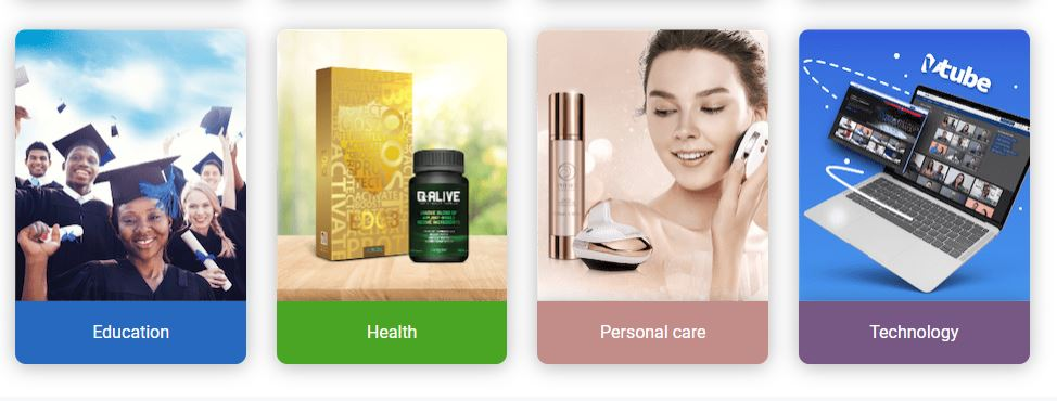 qnet health products